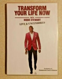 TRANSFORM YOUR LIFE NOW with Niik (Nique) Stewart: Live & Uncens. (DVD/CD, 2010)