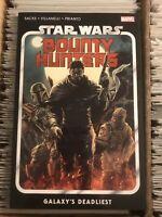 STAR WARS BOUNTY HUNTERS vol 1 GALAXY'S DEADLIEST TPB 2020 boba fett mandalorian
