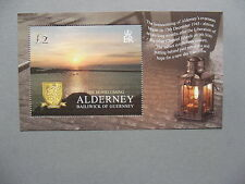GUERNSEY ALDERNEY, S/S MNH 2005, return after WW-II