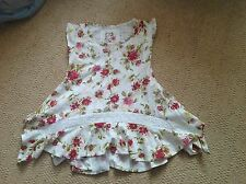 New Without Tags Tunic Style Sleeveless Top/dress By Next 3 To 4 Yrs