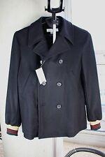 COMME de GARCONS JUNYA WATANABE MAN Black Peacoat jacket coat