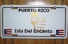 "Puerto Rico Isla Del Encanto Flag 6""x12"" Aluminum License Plate Tag"