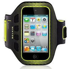 iPod Touch 4G 4th Gen Belkin Armband EaseFit Sport Black Yellow Case Cover