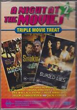 MAXIMUM SECURITY - SMOKIN' STOGIES - BURIED LIES - 3 MOVIES ON DVD - NEW -