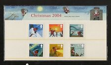 QEII 2004 Presentation Pack Christmas 2004 stamps