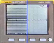 Fluke 192 196 199 Scopemeter Lcd Display Line Repair Service