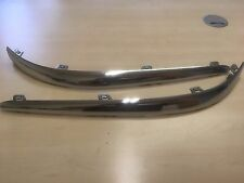 JAGUAR S TYPE FRONT CHROME BUMPER TRIM. LEFT OR RIGHT AVAILABLE AT £32.50 EACH
