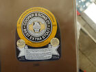 VINTAGE AUS BEER LABEL. COOPERS & SONS BEST EXTRA STOUT 375 ML 4C REFUND