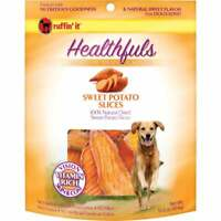 Ruffin' it Healthfuls Sweet Potato Flavor Chewy Dog Treat, 1 Lb. 08310  - 1 Each