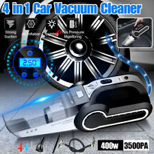 120W 12V 4in1 Portable Car Vacuum Handheld Super Suction Wet Dry