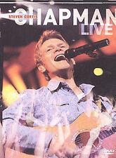 Steven Curtis Chapman Live DVD Christian Award Winner Music Great Shape Free S/H