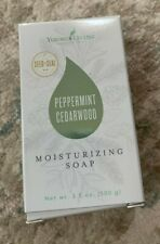 NEW - Young Living Peppermint Cedarwood Bar Soap 3.5oz