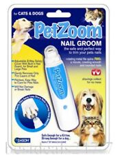 PET ZOOM TOE NAIL CLAW CLIPPERS GROOMING TOOL FOR DOGS & CATS SAFE FILER CARE