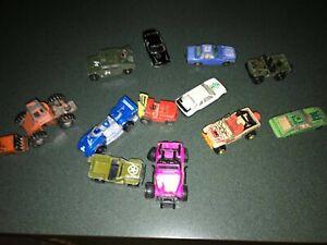 Lot of 12 Hot Wheels Matchbox Yatming Tonka Cars - Redline Jurassic Park Jeep