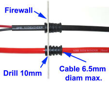 FIREWALL GROMMET FOR DUAL BATTERY SYSTEMS UHF CABLE 12V FRIDGE WIRE FROM ABR