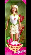 Barbie 1998 Strawberry Party Doll by Mattel NIB NIP Includes Markers & Stencils