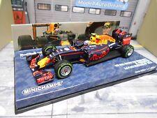 F1 red bull rb12 renault Tag Heuer #33 verstappen brasil 2016 Minichamps 1:43