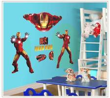 Wandtattoo Wandsticker Wandaufkleber Marvel Iron Man Kinderzimmer 100 x 76 W021