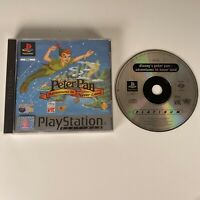 DISNEYS PETER PAN the PLAYSTATION 1 PS1 Good Condition Free Post