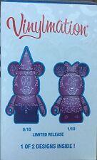 Disneyland 2017 Vinylmation 3 inch Eachez Mystery Box Sorcerer Mickey or Minnie