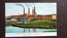 Worcester Salt Factory, Silver Springs for, NY - early 1900s