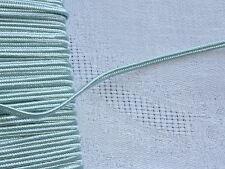 MERCERIE-PASSEMENTERIE-GALON SOUTACHE BLEU CIEL-larg.0,3cm/Vendu au m