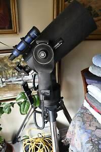 Telescope, 8 inch, SCT, Meade LX-90, computerized; fork, alt-az mount