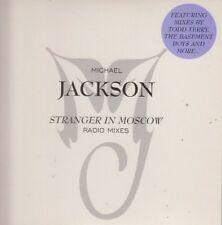 Michael Jackson 5 track Promo CD Single Stranger In Moscow 1996