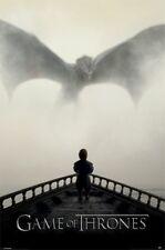 Game of Thrones Ein Löwe & Ein Drache Poster