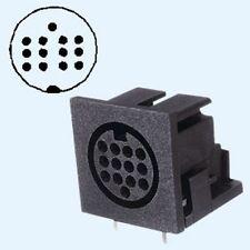 13-pol - conector y conector para guitarra MIDI o equipo Atari