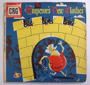 THE EMPEROR'S NEW CLOTHES CRG Children's Record Guild 78 RPM 2 Vinyl Records