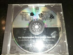Microsoft Windows 95 Starts Here + How & Why  (PC, 1995 CD-ROM Disc CD Only)