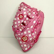 "Wilson A300 Pink T-ball Glove 9.5"" Right Hand Thrower"