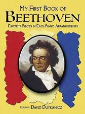 My First Book of Beethoven: Favorite Pieces in Easy Piano Arrangements (Paperbac