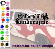 Automobile Randgruppe JDM Sticker Aufkleber OEM Power fun like Shocker Winter