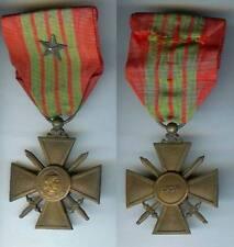 Médaille - Croix de guerre 1939 1 citation étoile bronze
