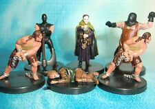 Dungeons & Dragons Miniatures Lot  Torturer Prisoner Village Priest !!  s114