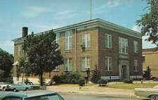 Cadiz Kentucky Trigg Court House Street View Vintage Postcard K43522