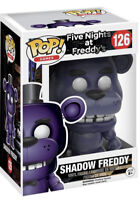 Funko POP! FNAF Friday Night At Freddies #126 SHADOW FREDDIE *CASE FRESH*