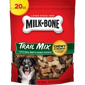 Milk-Bone Trail Mix with Real Beef & Sweet Potato Dog Treats, 20 Ounces
