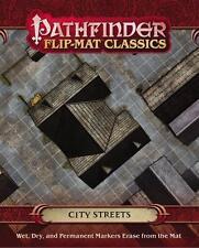 Pathfinder Flip Mat Classics City Streets Game by Paizo Publishing PZO 31007