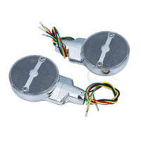 Turn Signals Smoked Lens LED For Harley Heritage Softail Classic FLSTC 1999-2017