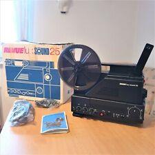 Wie NEU :  REVUE lux sound 25 , Super 8 Tonfilm Projektor , in OVP