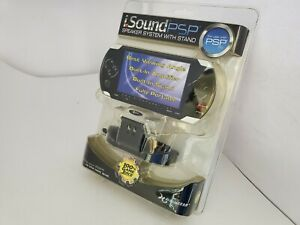 NEW DreamGear i.SOUND PSP 1000 SPEAKER SYSTEM WITH STAND FACTORY SEALED X7