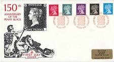 1990 Penny Black (Stamps) - Mercury - Windsor (3 Lions) H/S