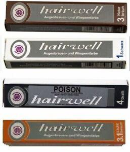 Hairwell Eyelash and Eyebrow dye VEGAN FRIENDLY