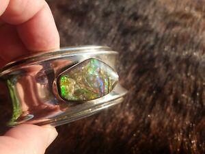 Vintage Navajo Native American Delbert Gordon Cuff Bracelet