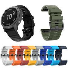 26MM Watchband Strap Correa Pulsera Para Garmin Fenix 6X/5X Plus/3 HR/D2 Bravo