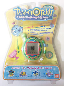 BANDAI Tamagotchi Connection: Version 4 V4 Green Soda 2007 - New in Box Sealed