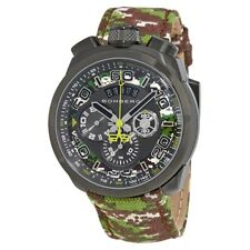 New Mens Bomberg BS45CHPGM.038.3 Bolt-68 Swiss Chronograph Camouflage Watch
